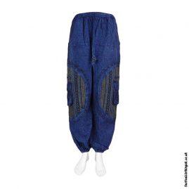 Blue-Gheri-Patch-Cotton-Festival-Harem-Pants