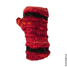 Festival-Wool-Wrist-Warmer-Tube-Gloves-RedFestival-Wool-Wrist-Warmer-Tube-Gloves-Red