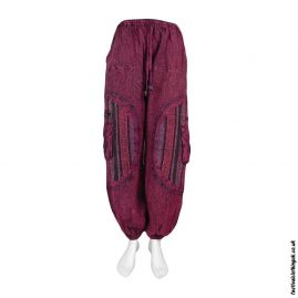 Red-Gheri-Patch-Cotton-Festival-Harem-Pants